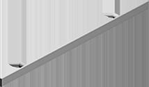 """Handrail (3/8"""" x 2"""")"""