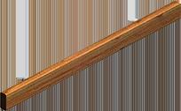 """Hard Wood Bumper (2"""" x 4"""")"""