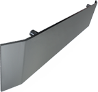 """Flat Handrail (3/8"""" x 8"""") with return ends"""