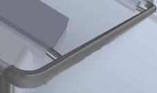 "Handrail - 1 1/2"" Diameter with return ends"